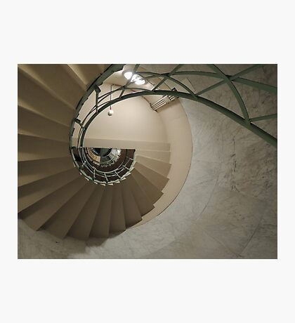 The Spiral Staircase Photographic Print