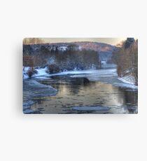 Impressions of Bewdley - Winter Chill Metal Print