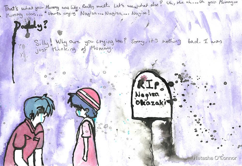 Wanna hear about mummy? by Natasha O'Connor