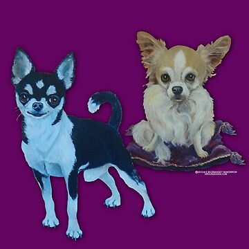 Chihuahua Buddies by grounddogs