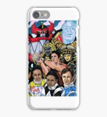 Power Ranges color iPhone Case/Skin