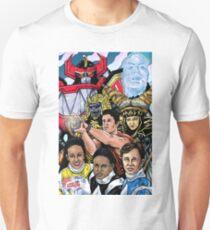 Power Ranges color Unisex T-Shirt