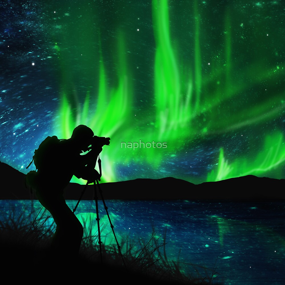 shooting aurora by naphotos