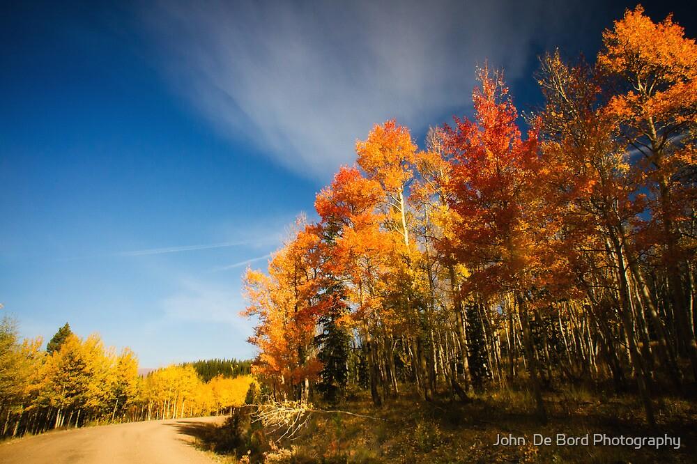 Road Of Many Colors by John  De Bord Photography