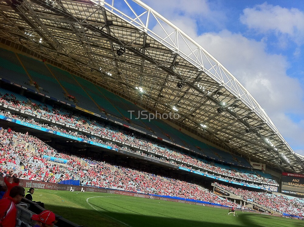 ANZ Stadium, Sydney by TJSphoto