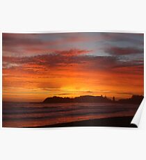 Terrigal Sunrise Poster