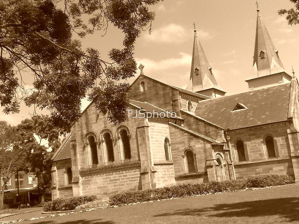 Church in Parramatta by TJSphoto