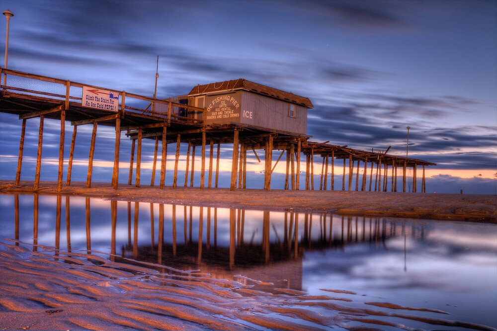 Ocean City,Md pier by DarrenL