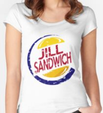 Jill Sandwich BIG Women's Fitted Scoop T-Shirt