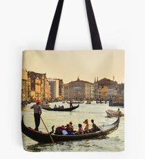 Venetian Gondola at dawn Tote Bag