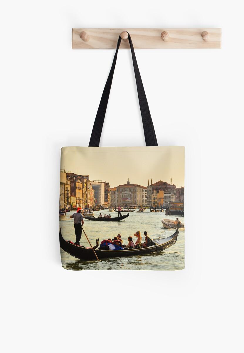 Venetian Gondola at dawn by mchoihk