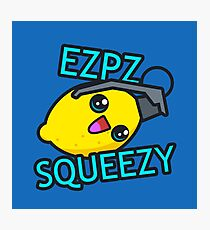 Ezpz Lemon Squeezy v1 Photographic Print