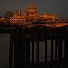 The light on St Paul's by Geraldine Miller