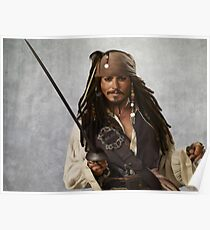 Captain Jack Sparrow  Poster