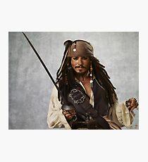 Captain Jack Sparrow Fotodruck