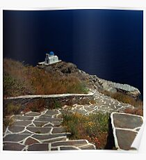 Sifnos (Kastro), Greece Poster