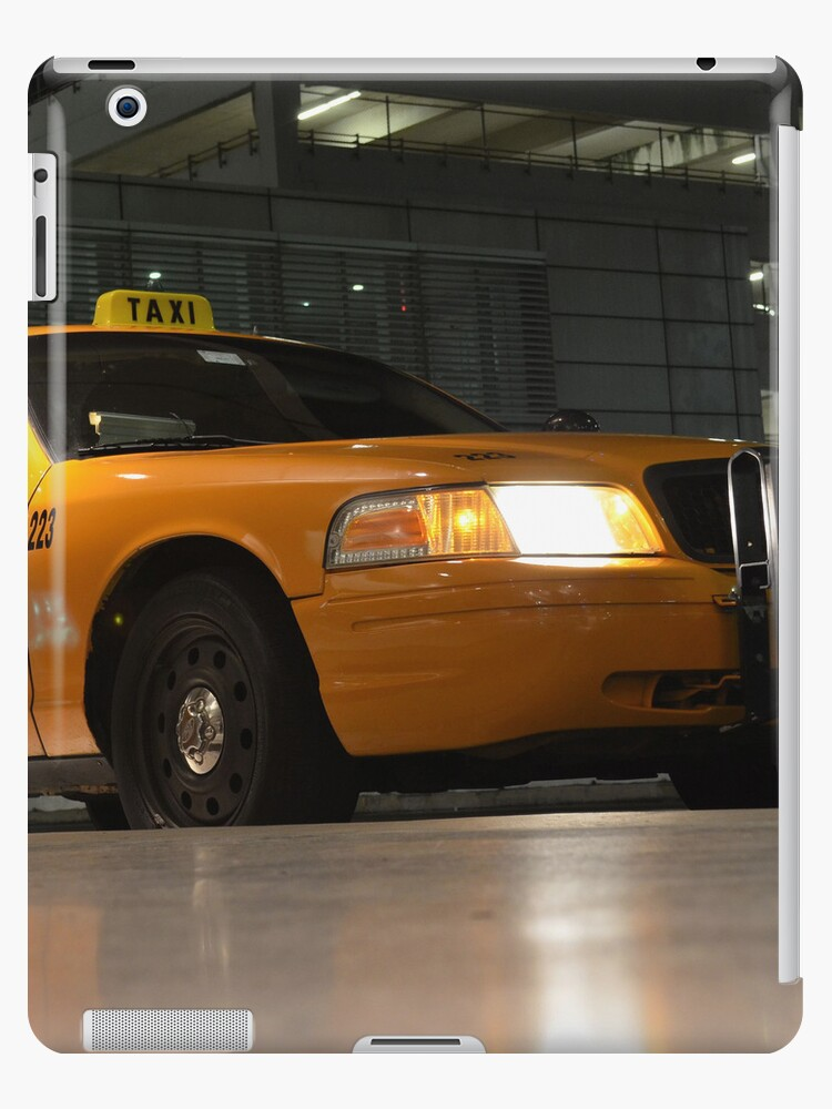 Yellow Cab   iPad Case by Jeremy Lavender Photography