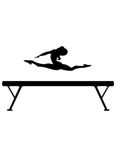 Gymnast On Beam Drawing | www.pixshark.com - Images