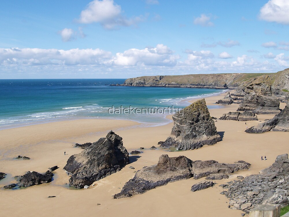 Bedruthan Steps, Cornwall by dalekenworthy