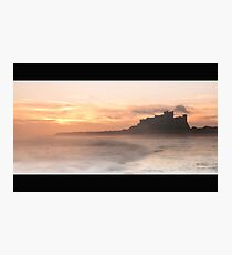 Bamburgh Castle Photographic Print