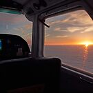 Trislander Sunset by NeilAlderney