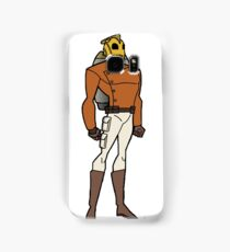 Bruce Timm Style Rocketeer Samsung Galaxy Case/Skin