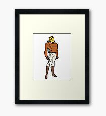 Bruce Timm Style Rocketeer Framed Print
