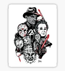 Horror Icons Sticker