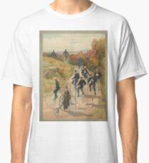 Antique Bicycling Print Classic T-Shirt