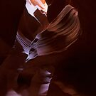 Antelope Canyon 11 by Sylwester Zacheja