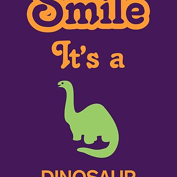 Smile it's a DINOSAUR Children's Clothing by SmileitsaShirt