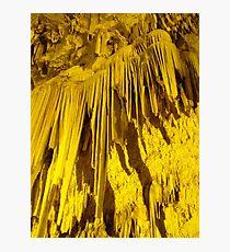 Greek cave Photographic Print