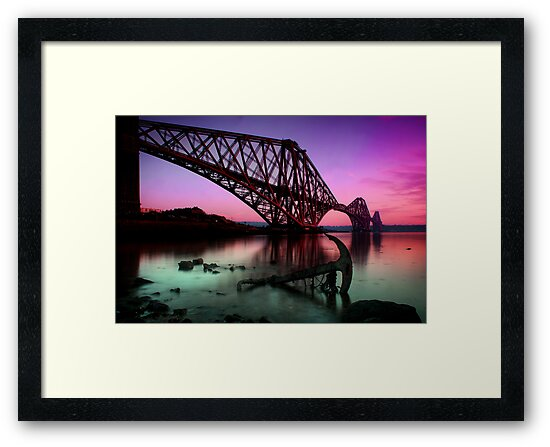 The Rail bridge by Paul  Gibb