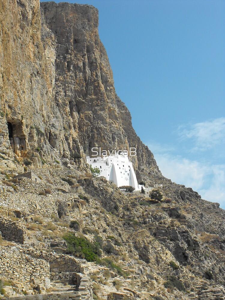 Greece: Amorgos Monastery 1 by SlavicaB