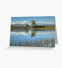 Wise Een Tarn, Cumbria Greeting Card