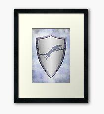 Stark Shield - Clean Version Framed Print