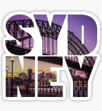 Sydney Bridge Text Sticker