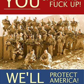 WE'LL PROTECT AMERICA! OEF 8 by eviledna215