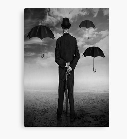 Magritte Style Canvas Print