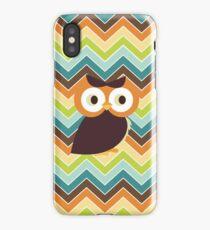 Owl {chevron} iPhone Case iPhone Case/Skin