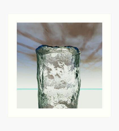 Column of Ice Art Print