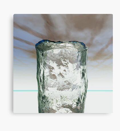Column of Ice Metal Print