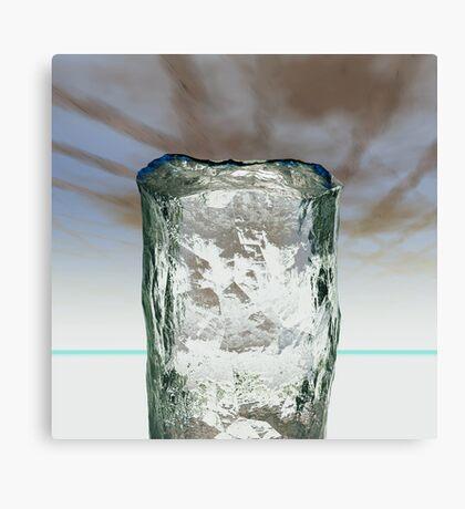 Column of Ice Canvas Print