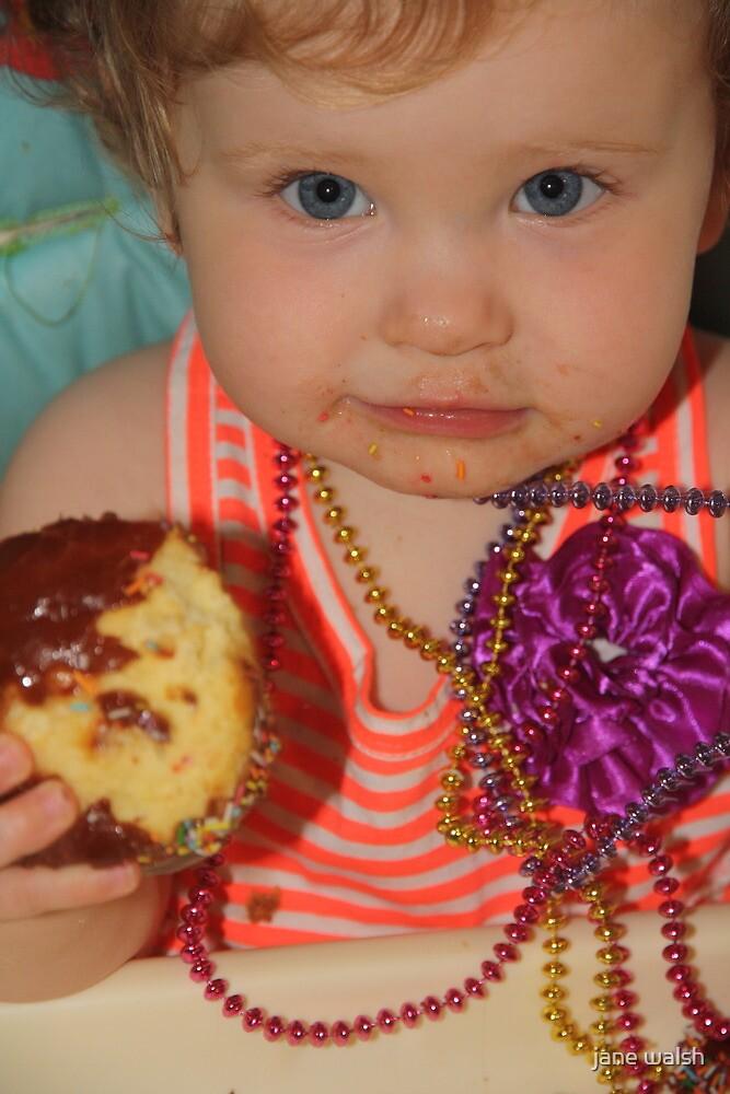 birthday girl today! by jane walsh