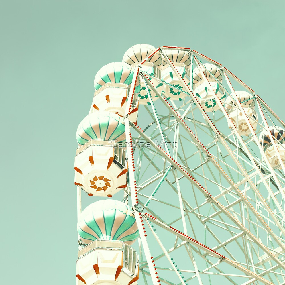 Ferris wheel by Caroline Mint