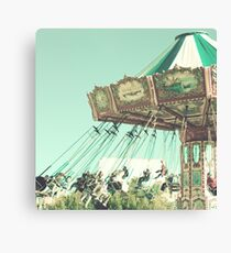 Swing Chairs  Canvas Print