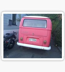 Red Car Sticker