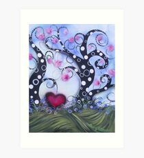 Natures Love Song Art Print