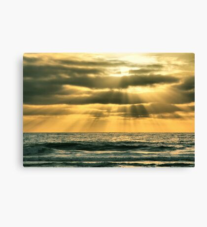Mission Beach Evening Canvas Print