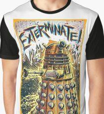 Dalek Dr Who art the Doctor Who BBC davros tardis the doctor david tennant exterminate matt smith british gridlock stolen earth sci fi christmas joe badon Graphic T-Shirt